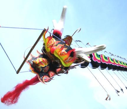 Traditional Chinese Dragon Kite