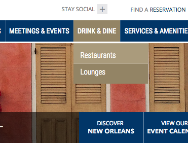 New Orleans Hotels and Restaurants - 3